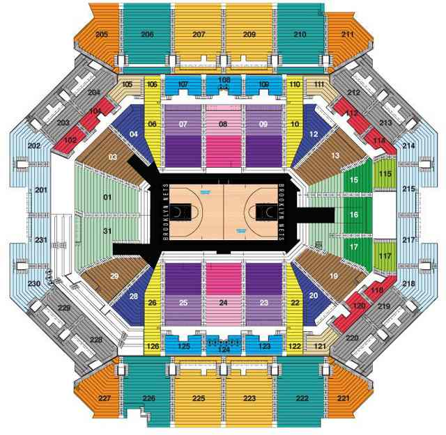 Brooklyn nets seating chart netsseatingchart comnetsseatingchart com